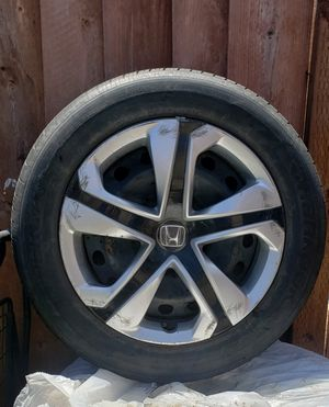 Tires, Rims & hubcaps (set of 4) $180 obo for Sale in Salinas, CA