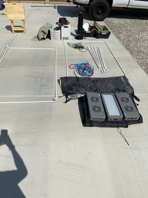 Divorce sale EVERYTHING GOES TODAY.... Silverado HD, grow tent with led lights , tools , yard tools , TV trays, coolers, lawn mower ... come see for for Sale in Victorville, CA