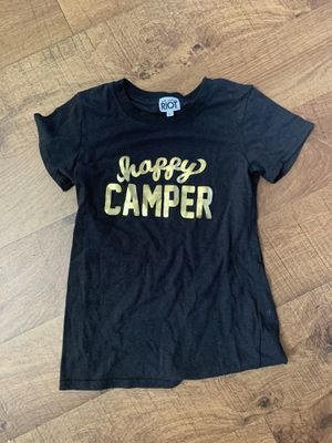Like new girls size large camp T-shirt for Sale in Plano, TX