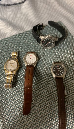 Watches For Sale Hugo Max and Swiss Army for Sale in Tampa, FL