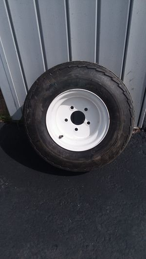 NEW 20.5/8.0/10 trailer tire & wheel for Sale in Easton, PA
