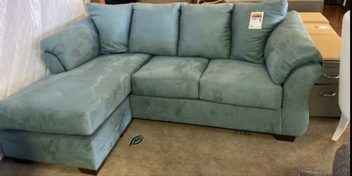 🏺$39 Down Payment . 🏺🏺SPECIAL] Darcy Sky Sofa Chaise for Sale in Beltsville,  MD