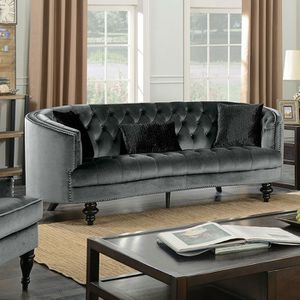 Grey glamorous luxurious sofa couch for Sale in Downey, CA