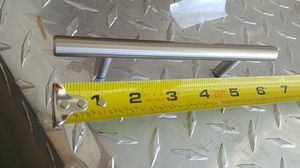 """Satin nickel 6"""" Kitchen cabinets bar handles lot of 50 for Sale in Las Vegas, NV"""