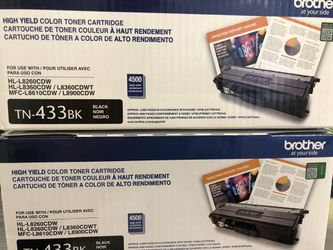 Brother Black Toner for color printer for Sale in Boston,  MA