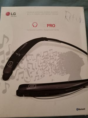 Genuine LG Tone Pro HBS-770 Wireless Bluetooth Stereo Headset for Sale in Dearborn, MI
