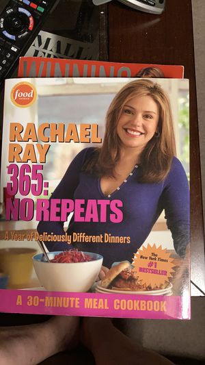 Rachael Ray 365:No Repeats -30 Minute Meals Cookbook for Sale in Boxborough, MA