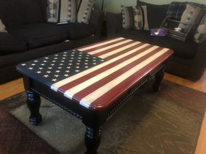 American Flag Coffee Table for Sale for sale  Jersey City, NJ