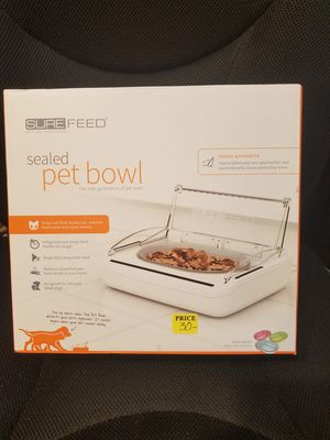 Surefeed sealed automatic pet feeder for Sale in Port St. Lucie, FL