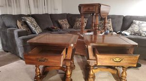 Solid Wood End Tables for Sale in Pittsburgh, PA