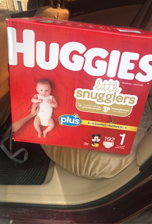 Brand new Size 1 Huggies box unopened for Sale in Manor, TX