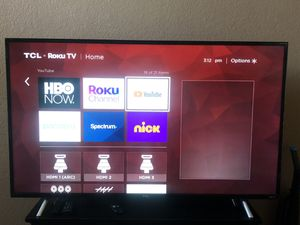 """55"""" TCL ROKU TV for Sale in Palmdale, CA"""