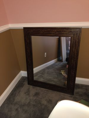 Wall Mirror - Brown for Sale in Upper Marlboro, MD