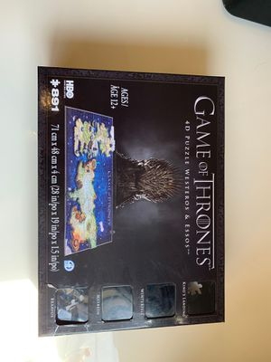 Game of Thrones 4D Puzzle Westeros & Essos for Sale in Los Angeles, CA