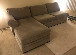 Sectional Couch Sofa - Left Side - Removable Cover for Sale in Seattle, WA