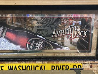 Amber Rock Beer Mirror for Sale in Washougal,  WA