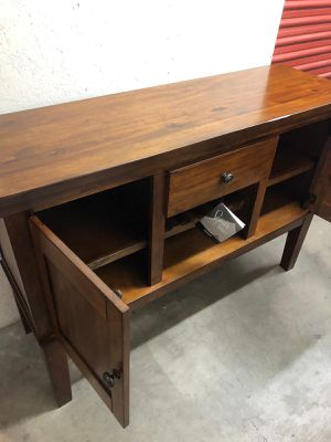Signature by Ashley cabinet/ Tv stand for Sale in Las Vegas, NV
