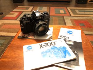 Minolta x-700 Film Camera with 3 Lens and Flash for Sale in Sacramento, CA
