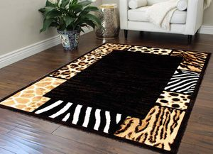 Animal print area rug brand new thick quality 5x7 foot for Sale in Salem, OR