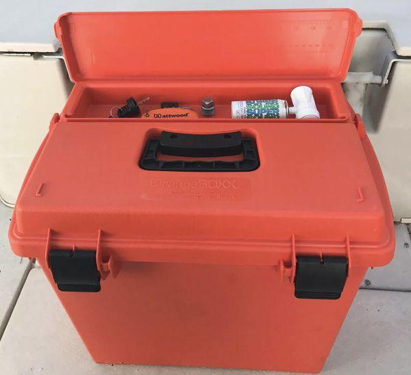 Extra Large Waterproof Dry Storage Box Evacuation Kit Ammo Boat Marine