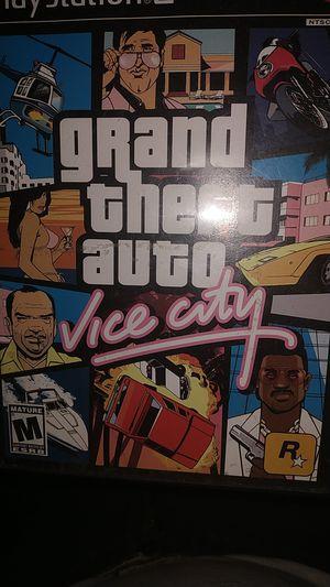 PS2 gta vice city for Sale in Baton Rouge, LA