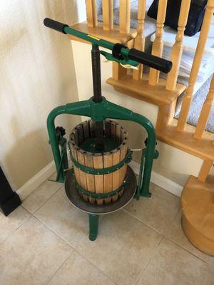 Italian wine press for Sale in Clayton, CA
