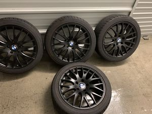 **Deal** 18 Black Rims with Kumho tires. OBO for Sale in San Diego, CA