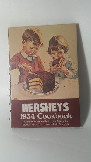 Vintage Hershey's 1934 cookbook repro 1971 for Sale in Orlando, FL