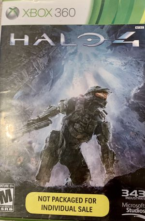 Halo 4 Xbox 360 game for Sale in Gardendale, TX