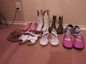 Girls shoes and boots for Sale in Austin, TX