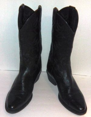ARIAT10002218 Men's Size 12D Black Deertan Western Heritage Cowboy Boots (NICE) for Sale in Washington, DC