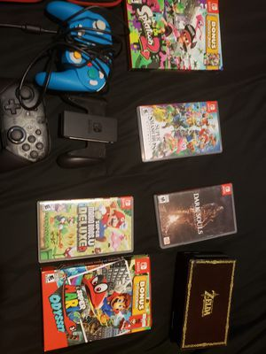 Nintendo switch system, games and controllers for Sale in Roseville, CA