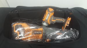 Ridgid Corded Reciprocating Saw (Sawzall) & Brushless Drill for Sale in UPR MARLBORO, MD
