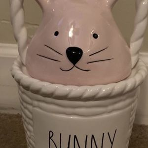 Rae Dunn Bunny Easter Basket for Sale in Walnut, CA