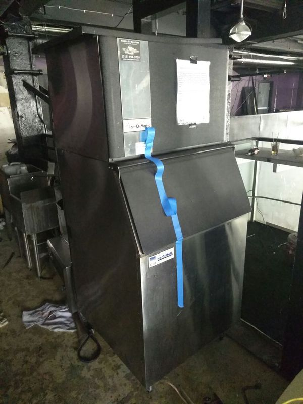 2 Fairly New and Used Ice Machines