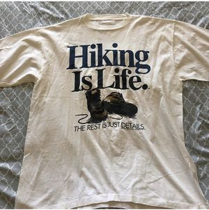 Vintage hiking is life 1990 shirt for Sale in Norwalk, CA