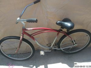 "26"" red Schwinn beach cruiser 100$ obo for Sale in Huntington Beach, CA"
