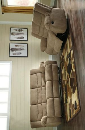 Columbus Day Special- [SPECIAL] Tulen Mocha Living Room Set for Sale in Houston, TX