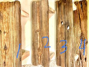 Rustic & Farmhouse Style Decor ~ 4 Different Aged Beachwood Shelves $25-$35 for Sale in Tampa, FL