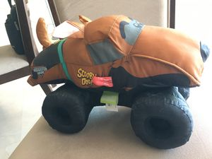 Scooby Doo Monster Jam monster truck stuffed animal for Sale in St. Petersburg, FL