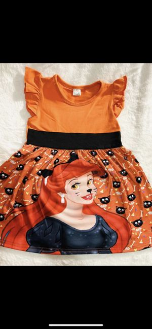 3t Ariel orange Halloween dress for Sale in Chula Vista, CA