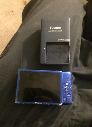 Canon PowerShot ELPH 100 HS Blue $75obo for Sale in Phoenix, AZ