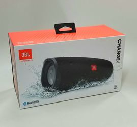 Brand New JBL Charge 4 Speaker. Bluetooth. Powerbank. Waterproof . Available Black! for Sale in Miami,  FL