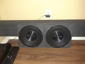 Truck subwoofer box(box only) for Sale in Phoenix, AZ
