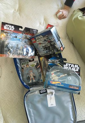 Star Wars medium gift pack Christmas birthday Lego hot wheels micro machines for Sale in Taylorsville, UT