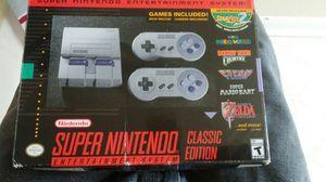 Mini super Nintendo 90$$$ like new for Sale in Houston, TX