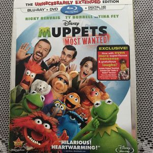 Disney's Muppets Most Wanted Blu-Ray DVD for Sale in Manchester, CT