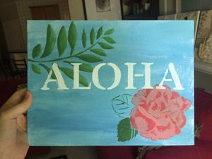 """""""Aloha"""" painting for Sale in New Hill, NC"""