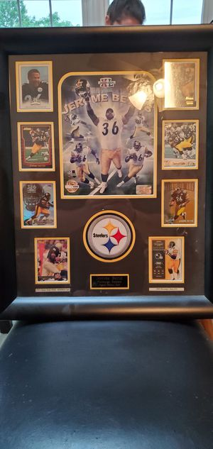 Pittsburgh Steelers Jerome Bettis card collection for Sale in Lynchburg, VA
