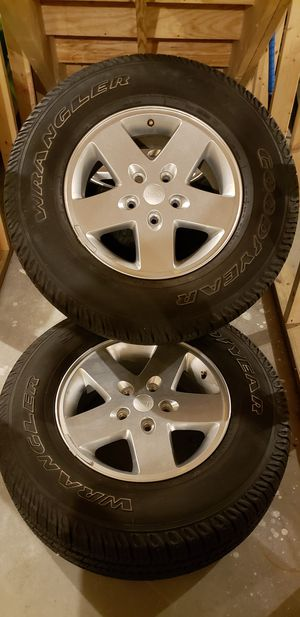2012 jeep wrangler wheels for Sale in South Attleboro, MA